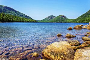 The Bubble Mountains - Maine by JDM4CHRIST
