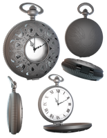 Pocket Watch by KrimsonAngel