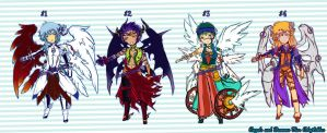 Angels and Demons ADOPTABLES {CLOSED} by SeraphEnigma23