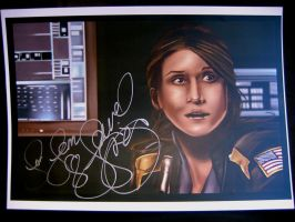 Jewel Staite - Keller - Signed by jeminabox