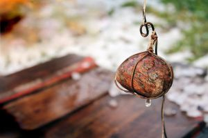 stone with rope by Luba-Lubov-13