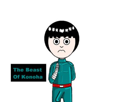 Rock Lee's Beast by Lego-Master