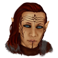 Inquisitor Lavellan by zelgreywords