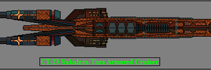 CT-23 Sakalera-Tara Class Armored Cruiser by GratefulReflex