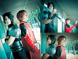 Friends? Enemies? Final Fantasy VII Crisis Core by xellosmadara
