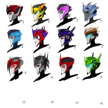 TFP OCs profile practice by Schwarz-one