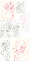 ~.Unfinished. Unposted.~ -- OCs by faster-by-choice