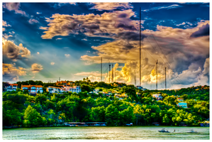 Late Afternoon on Lake Austin by whitehotphoenix