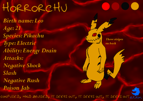 Horrorchu ref by ShadowTheDragonWolf