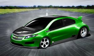 Chevy Volt Dragster by osdx