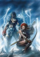 red sonja by moonshadow22222