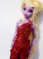 Disney Aphrodite OOAK Doll | Close Up #3 by claude-on-the-road