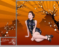 Sakura.pva.wall by maxyrius