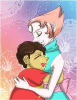 Steven and pearl by Danielle-chan