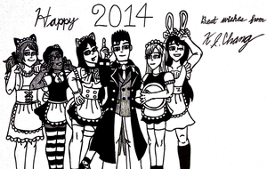 Happy 2014! by StealthNinja5