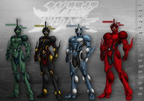 The Guyver Parallel Dimension: Height Chart v1 by Guyver89