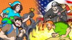 Game grumps VS Two Best Friends by TheGeckoNinja