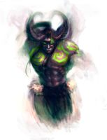 Illidan Stormrage by ScarletDesires