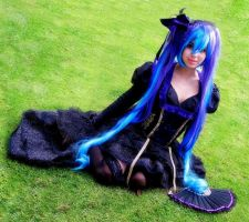 Hatsune Miku Sandplay of the singing dragon Cospla by HaruhichanxD