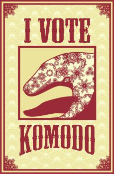 I Vote Komodo by ashclaimed