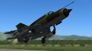 MiG-21 Fishbed #4 by BillyM12345