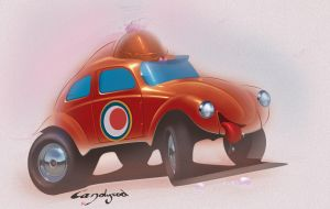 Beetle haha by candyrod