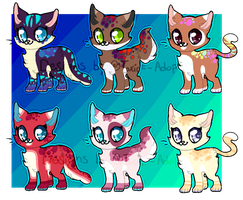 Cute Kitten Adopts [OPEN] by Toxic--Adopts