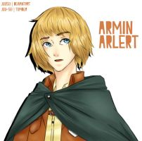 SNK: Armin Arlert by Aeveternal
