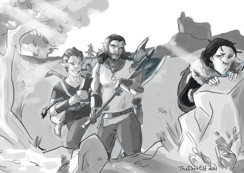 LS Comm: Morning Hunt by The-Diet-Elf