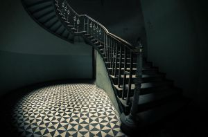 staircase II by Remiorski