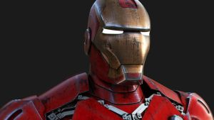 Iron Man - Textures Refined by AlxFX