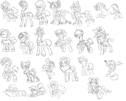 W.I.P 100 Theme Challange Adopts 1 by Sarahostervig