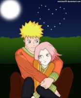 NaruSaku - Magic Night by natichan94