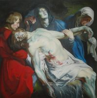 Rubens - The Entombment by PerfectCirkel