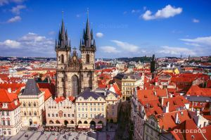 Roof of Prague II by olideb08