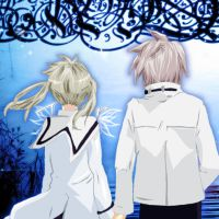 Maka and Soul - Holding Hands. by gone-phishing
