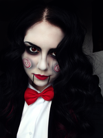 Jigsaw Cosplay by KikiMJ