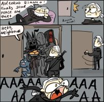The Witcher 3, doodles 108 by Ayej