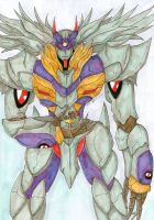 Rahxephon by goategon