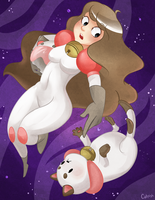 Bee and Puppycat by MorwenHelyanwe