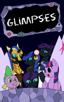 Glimpses Cover Art - COM by PenStrokePony