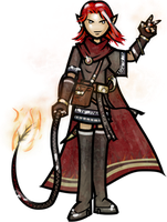 PFS Commissions- Firmina Thrune by WhoDrewThis