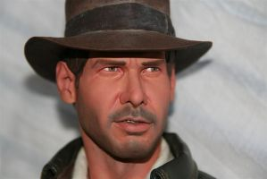 Sideshow Indy statue repaint 1 by DarrenCarnall