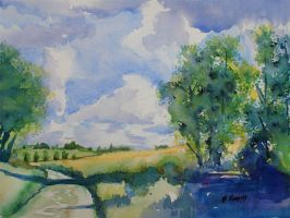 The Joys of Plein-Air Painting - Part 1 by p-e-a-k