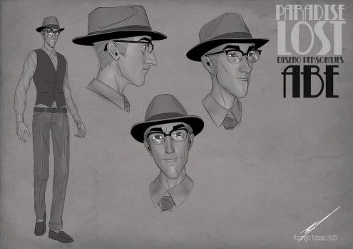 Paradise Lost Comic Project Character Desing-09 by RodrigoTobias