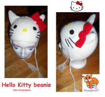 Hello Kitty Beanie by Sasophie