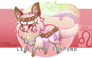 :Celestial FoxPond For Auction(closed): by PrePAWSterous