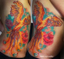 phoenix tattoo by NikaSamarina