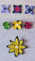 Flower brooches by nezstorm