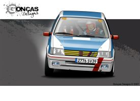 205 GTi Rally by carguy88